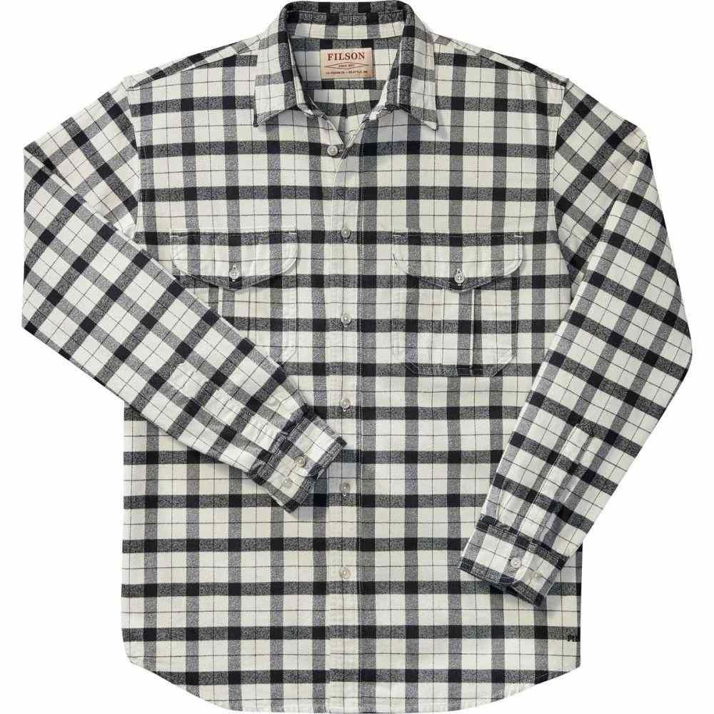 フィルソン Filson メンズ シャツ トップス【Alaskan Guide Shirt】Cream/Black