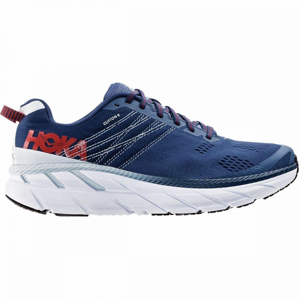 ホカ オネオネ HOKA ONE ONE メンズ ランニング・ウォーキング シューズ・靴【Clifton 6 Running Shoe】Ensign Blue/Plein Air