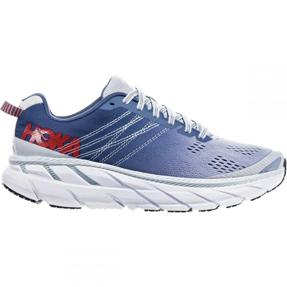 ホカ オネオネ HOKA ONE ONE レディース ランニング・ウォーキング シューズ・靴【Clifton 6 Running Shoe】Plein Air/Moonlight Blue