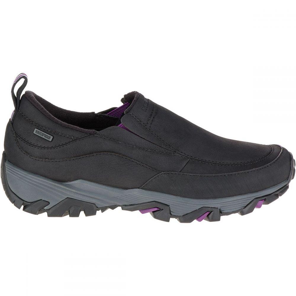 メレル Merrell レディース シューズ・靴 【Coldpack Ice+ Moc Waterproof Shoe】Black