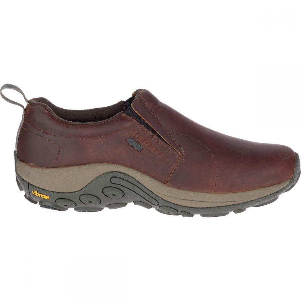 メレル Merrell メンズ シューズ・靴 【Jungle Moc Leather Waterproof Ice+ Shoe】Merrell Oak