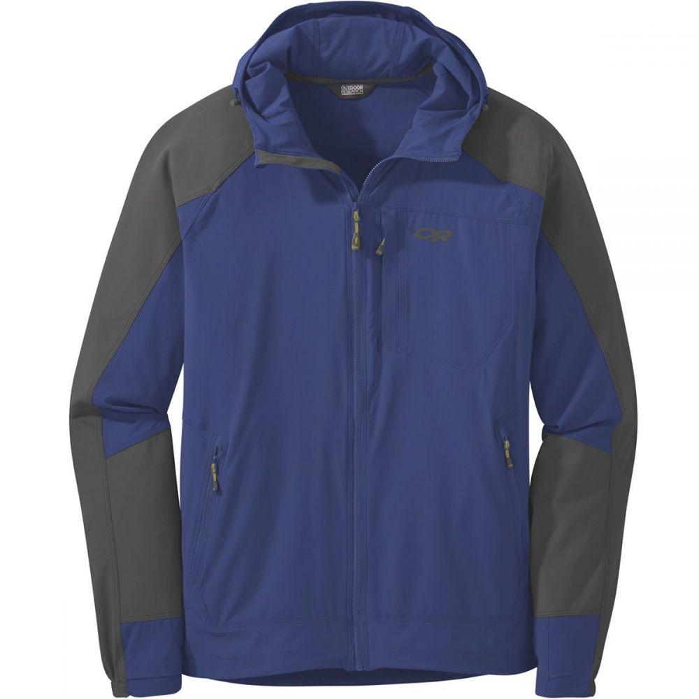 アウトドアリサーチ Outdoor Research メンズ ジャケット フード アウター【Ferrosi Hooded Jacket】Sapphire/Storm