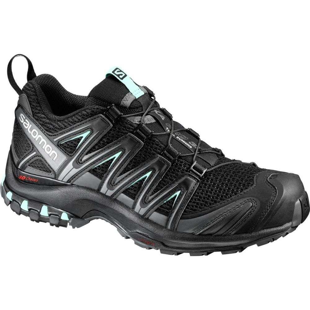 サロモン Salomon レディース ランニング・ウォーキング シューズ・靴【XA Pro 3D Running Shoe】Black/Magnet/Fair Aqua