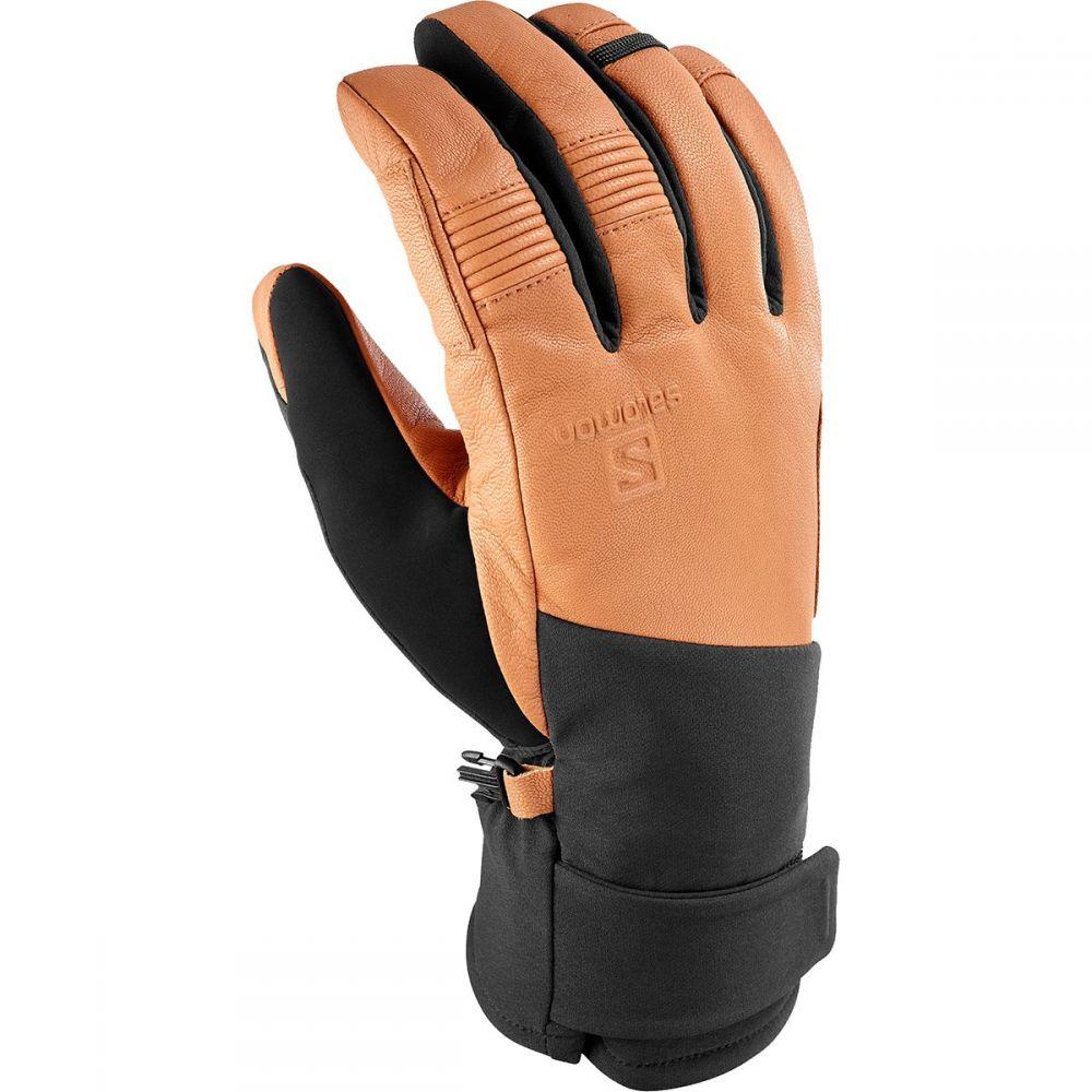 サロモン Salomon メンズ 手袋・グローブ 【Propeller Plus Glove】Black/Tan