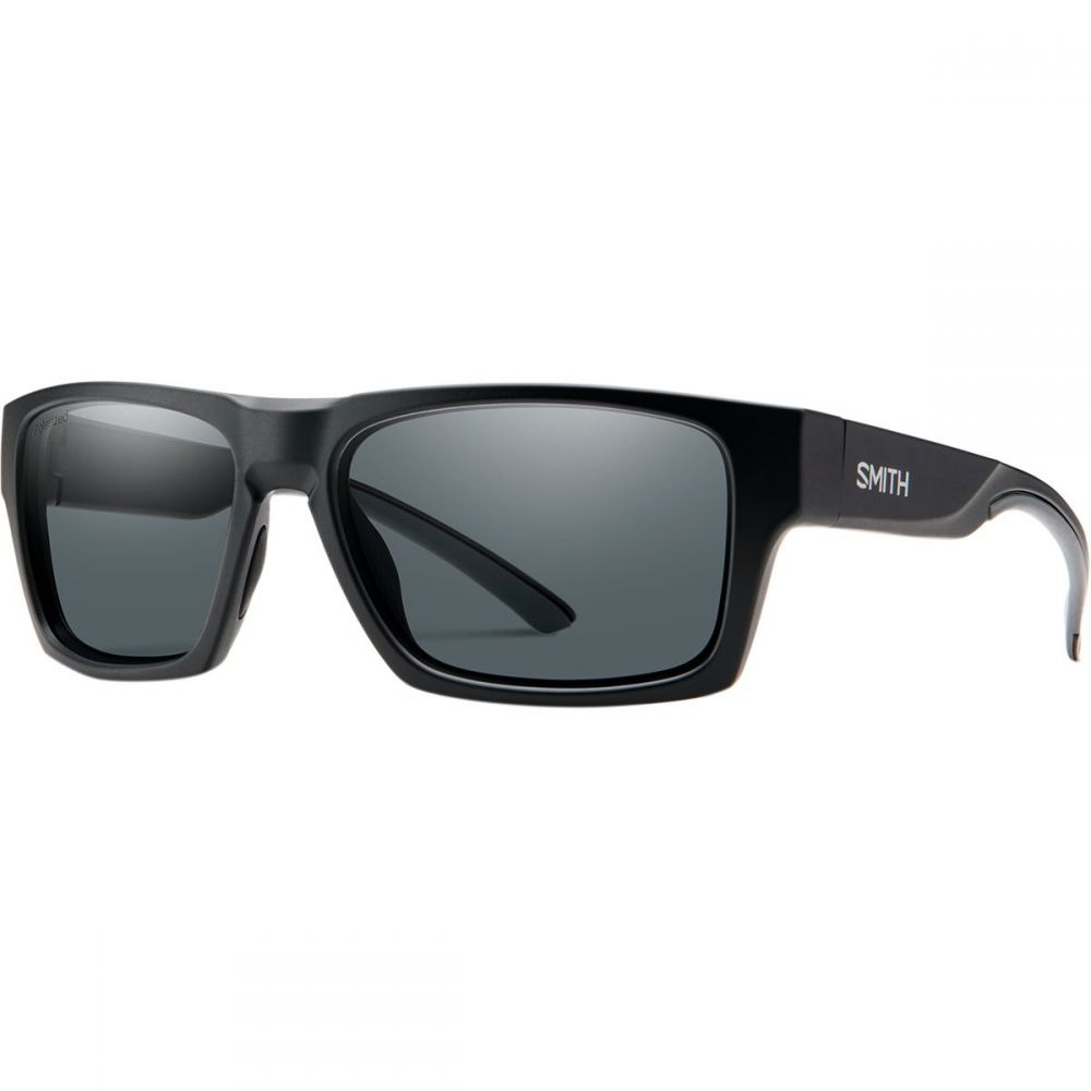 スミス Smith レディース スポーツサングラス 【Outlier 2 Polarized Sunglasses】Matte Black/Polarized Gray
