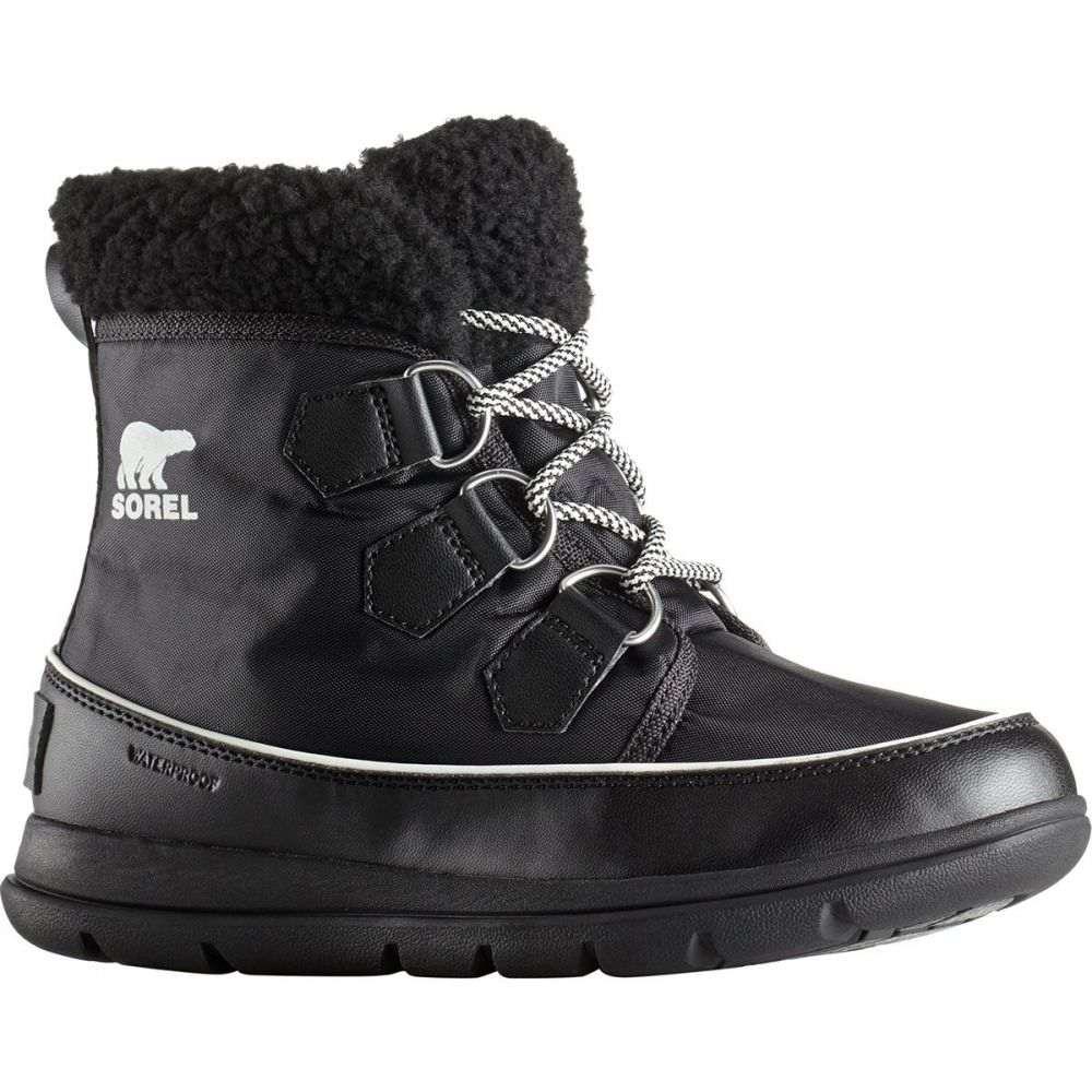 ソレル Sorel レディース ブーツ シューズ・靴【Explorer Carnival Boot】Black/Sea Salt