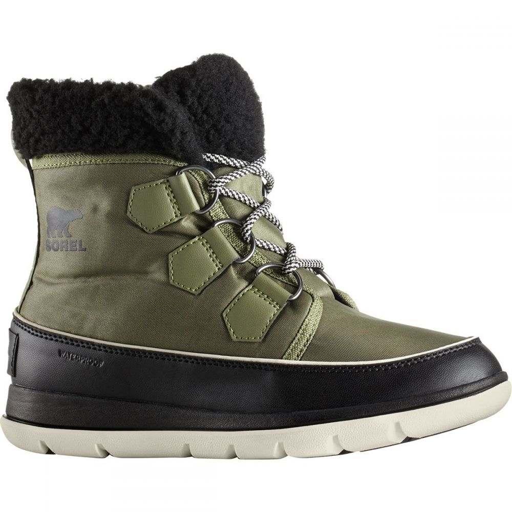 ソレル Sorel レディース ブーツ シューズ・靴【Explorer Carnival Boot】Hiker Green/Black