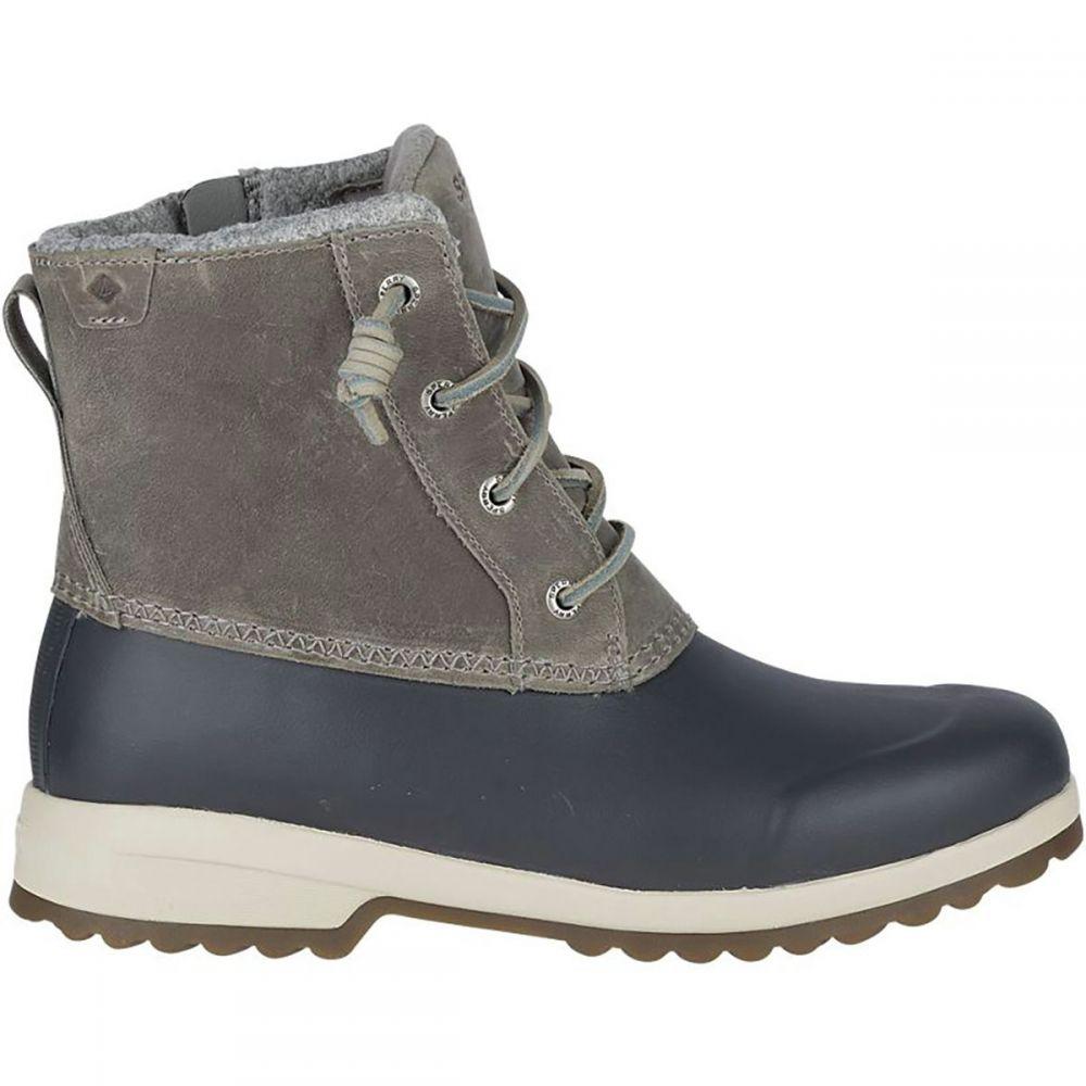 スペリー Sperry Top-Sider レディース ブーツ シューズ・靴【Maritime Repel Winter Boot】Grey