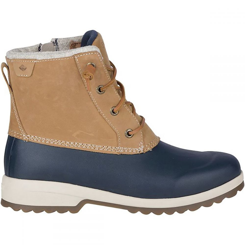 スペリー Sperry Top-Sider レディース ブーツ シューズ・靴【Maritime Repel Winter Boot】Tan/Navy