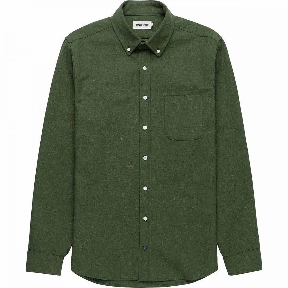 テイラー スティッチ Taylor Stitch メンズ シャツ トップス【The Jack Button - Down Shirt】Olive