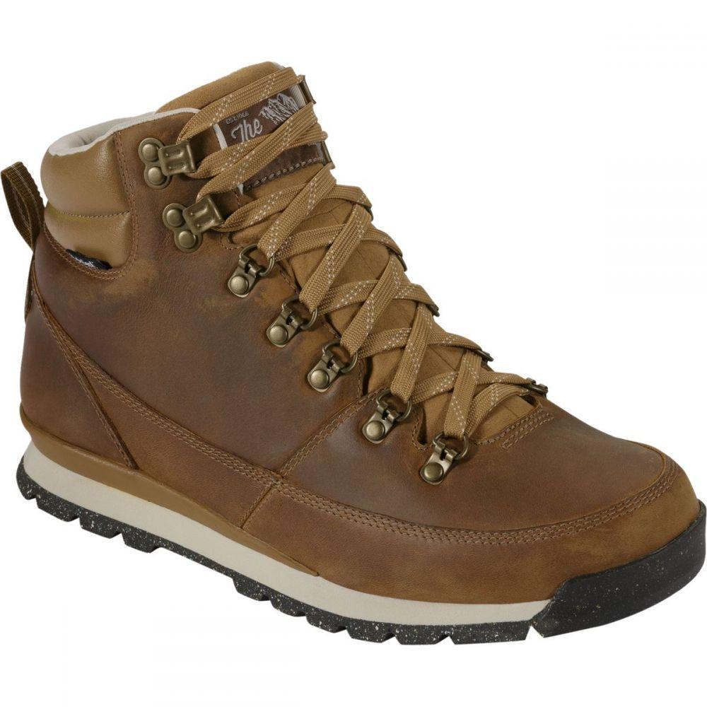 ザ ノースフェイス The North Face メンズ ブーツ シューズ・靴【Back - To - Berkeley Redux Leather Boot】Dijon Brown/Tagumi Brown