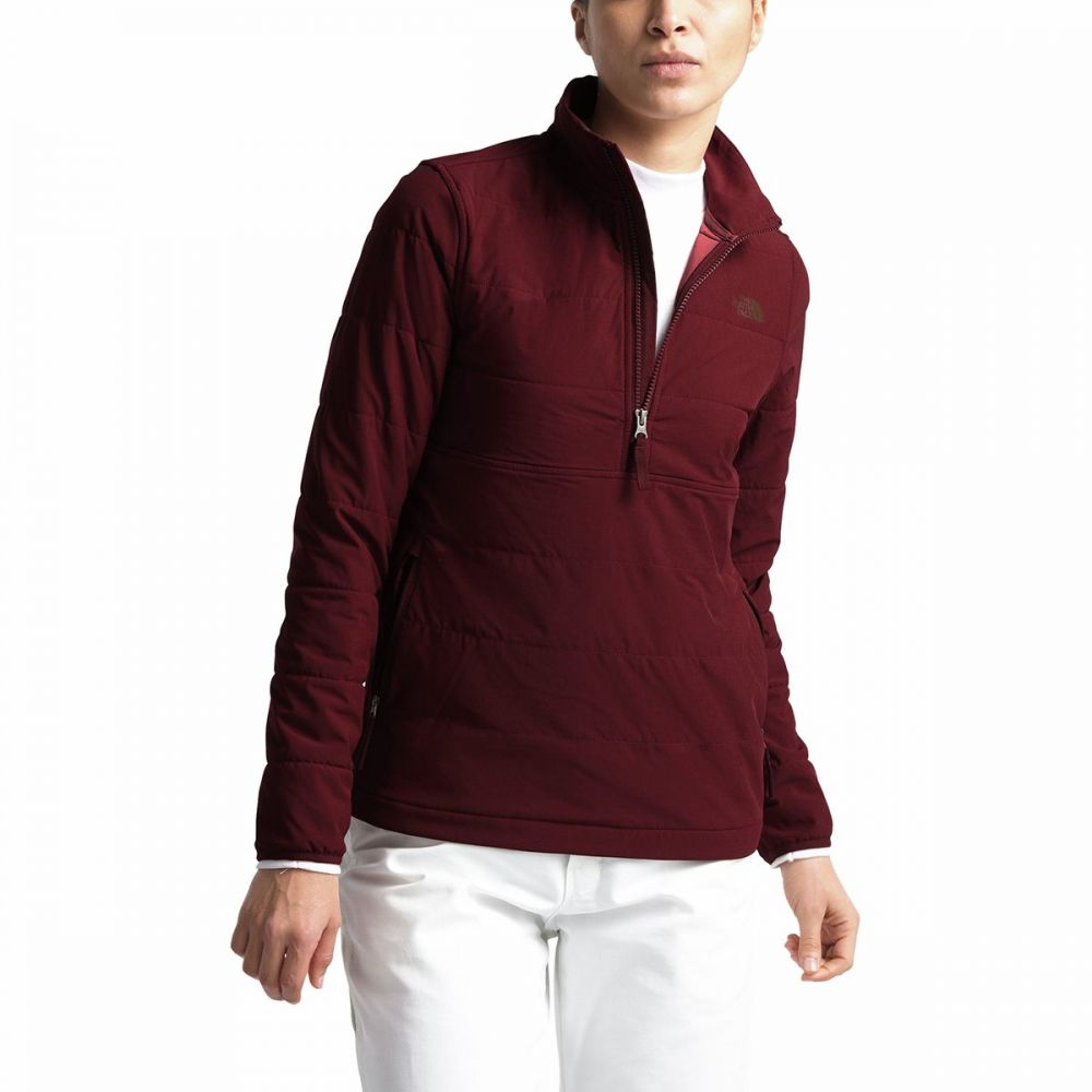 ザ ノースフェイス The North Face レディース ジャケット アウター【Mountain Sweatshirt 3.0 Pullover】Deep Garnet Red/Picante Red