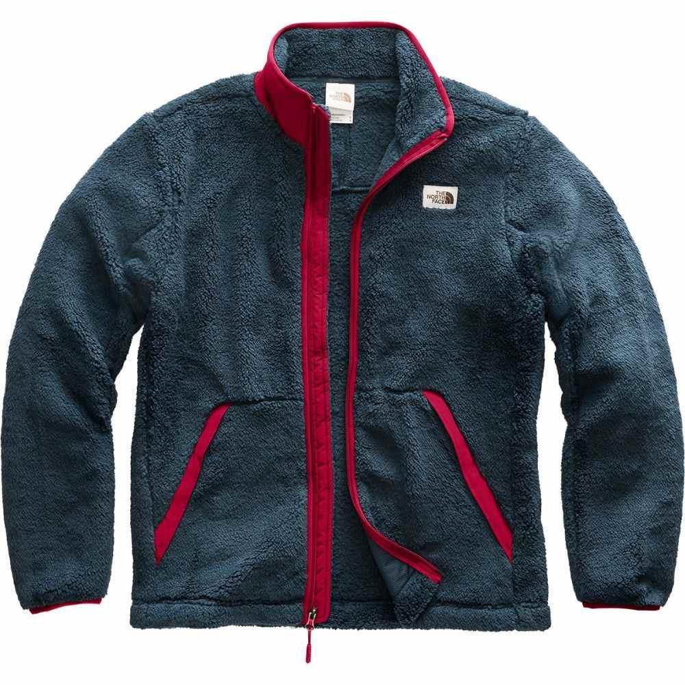 ザ ノースフェイス The North Face メンズ フリース トップス【Campshire Full - Zip Fleece Jacket】Urban Navy/Cardinal Red