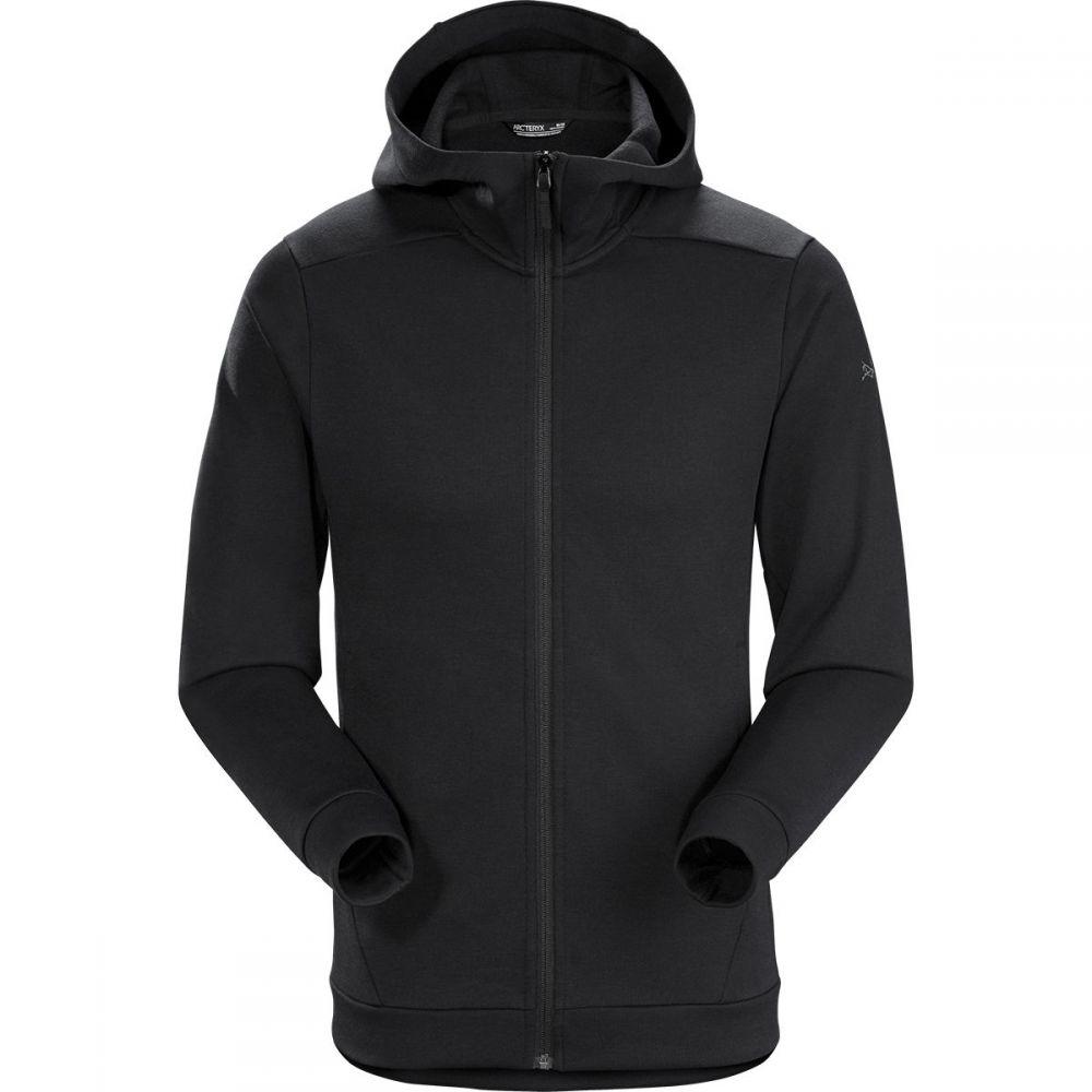 アークテリクス Arc'teryx メンズ フリース フード トップス【Dallen Fleece Hooded Jacket】Black