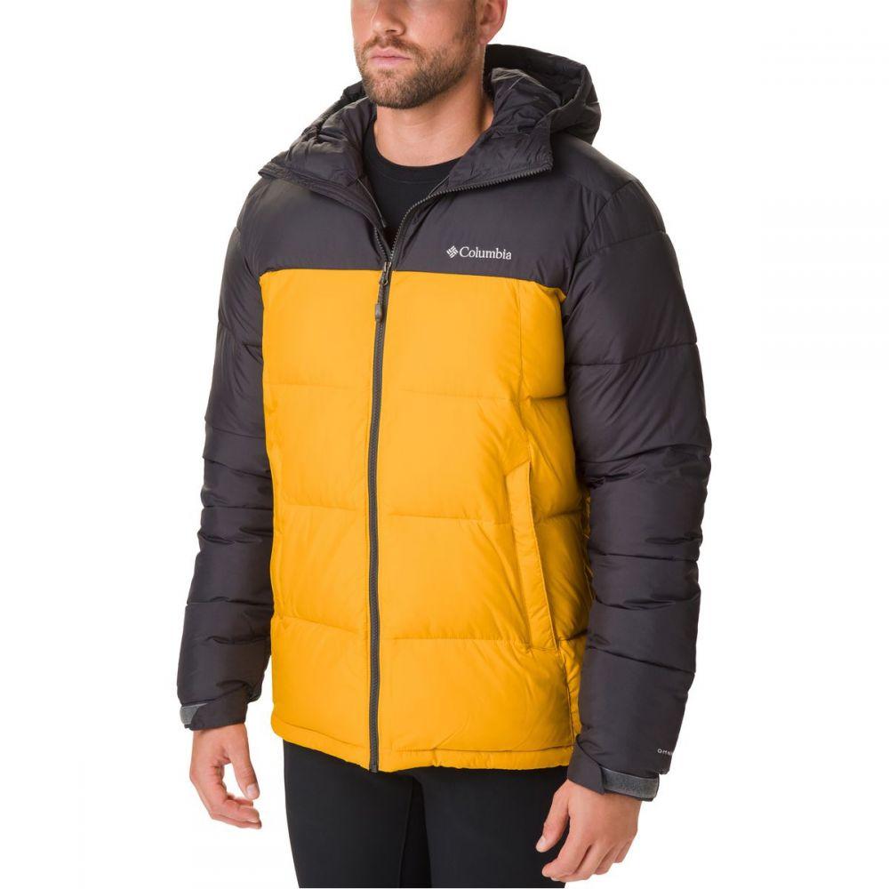 コロンビア Columbia メンズ ジャケット フード アウター【Pike Lake Hooded Jacket】Golden Yellow/Shark