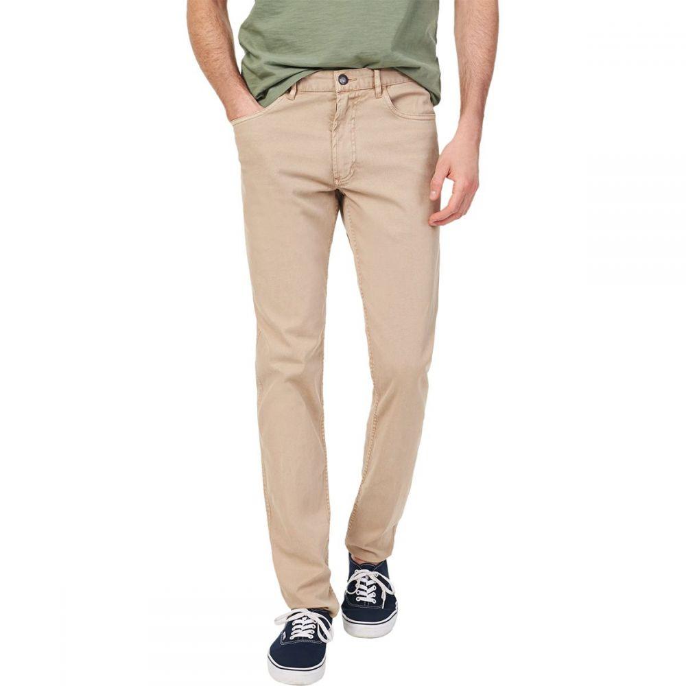 ファレティ Faherty メンズ ボトムス・パンツ 【Comfort Twill 5 - Pocket Pant】Khaki