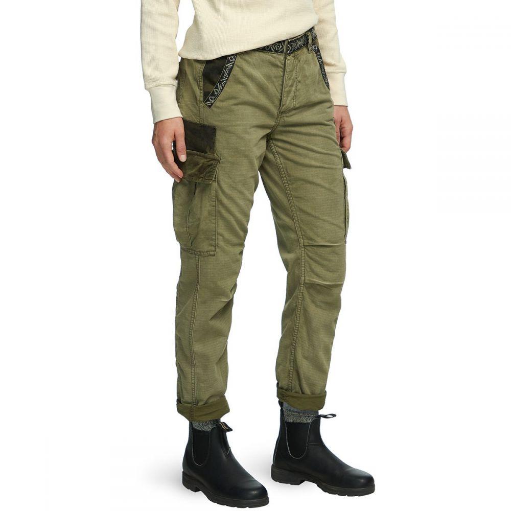 フリーピープル Free People レディース ボトムス・パンツ 【Wild Nothing Embroidered Pant】Olive