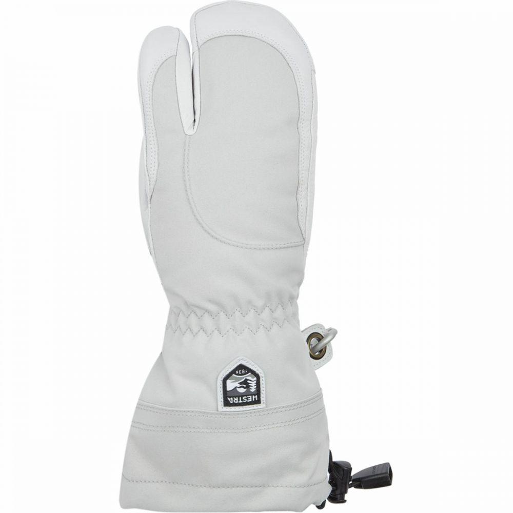 ヘスタ Hestra レディース 手袋・グローブ 【Heli 3 - Finger Glove】Pale Grey/Off White