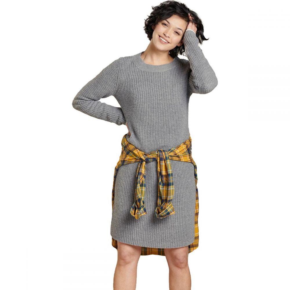 トードアンドコー Toad&Co レディース ワンピース ワンピース・ドレス【Lakeview Sweater Dress】Heather Grey