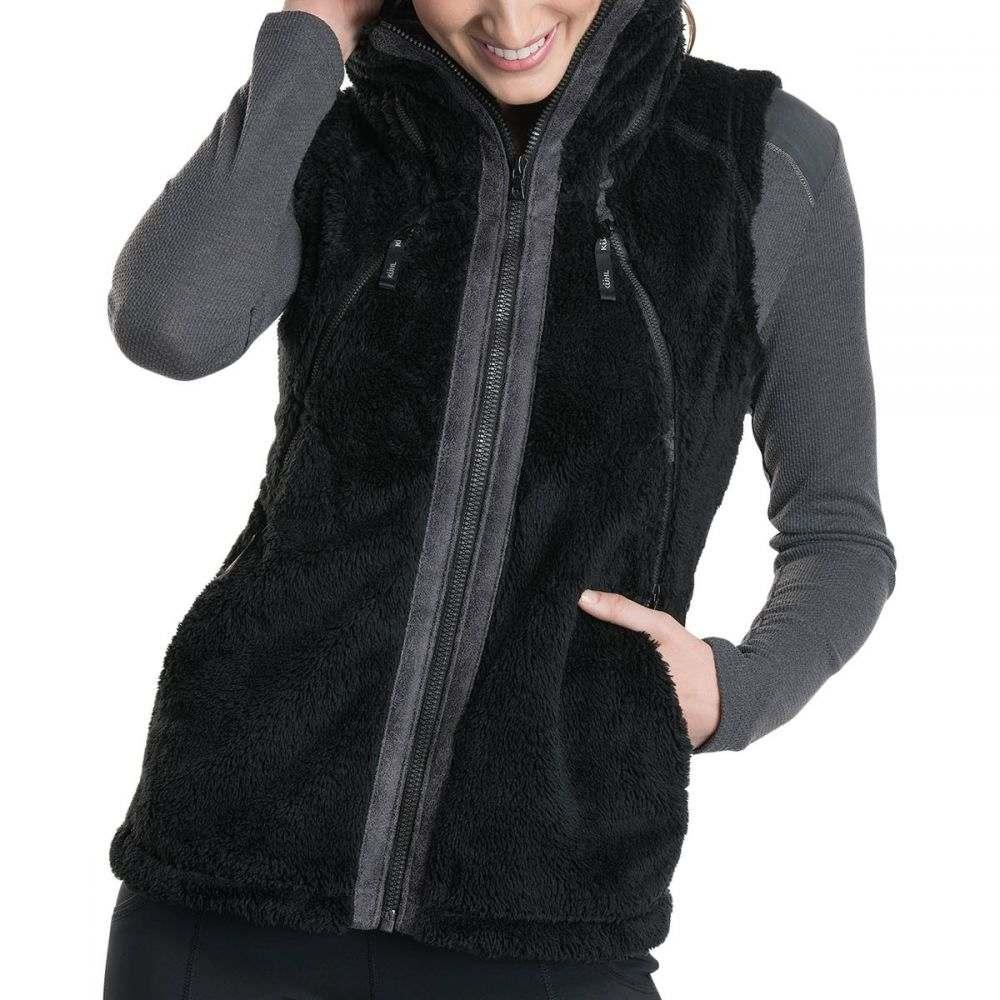 キュール KUHL レディース ベスト・ジレ トップス【Flight Fleece Vest】Black