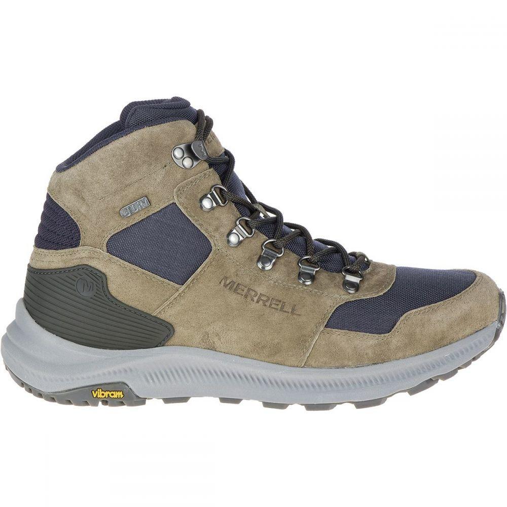 メレル Merrell メンズ ハイキング・登山 ブーツ シューズ・靴【Ontario 85 Mid WP Boot】Olive
