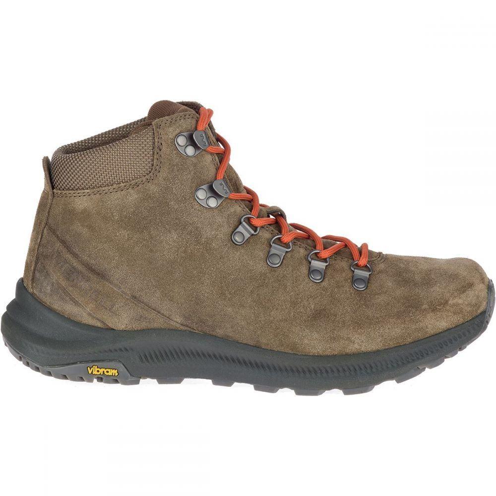 メレル メンズ ハイキング・登山 シューズ・靴 Canteen 【サイズ交換無料】 メレル Merrell メンズ ハイキング・登山 ブーツ シューズ・靴【Ontario Suede Mid Boot】Canteen