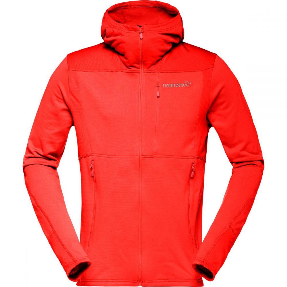 ノローナ Norrona メンズ フリース トップス【Falketind Warm1 Stretch Full - Zip Hooded Fleece】Arednalin