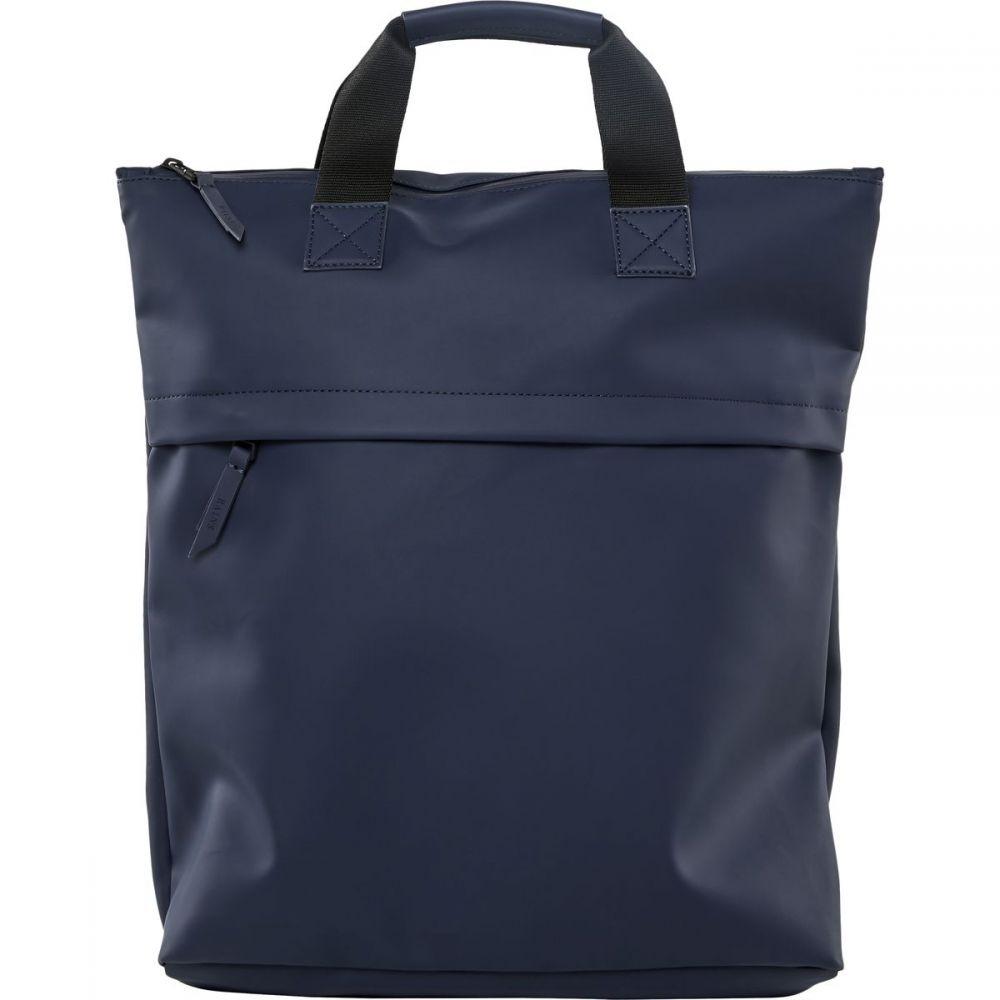 レインズ Rains レディース バックパック・リュック バッグ【Tote Backpack】Blue