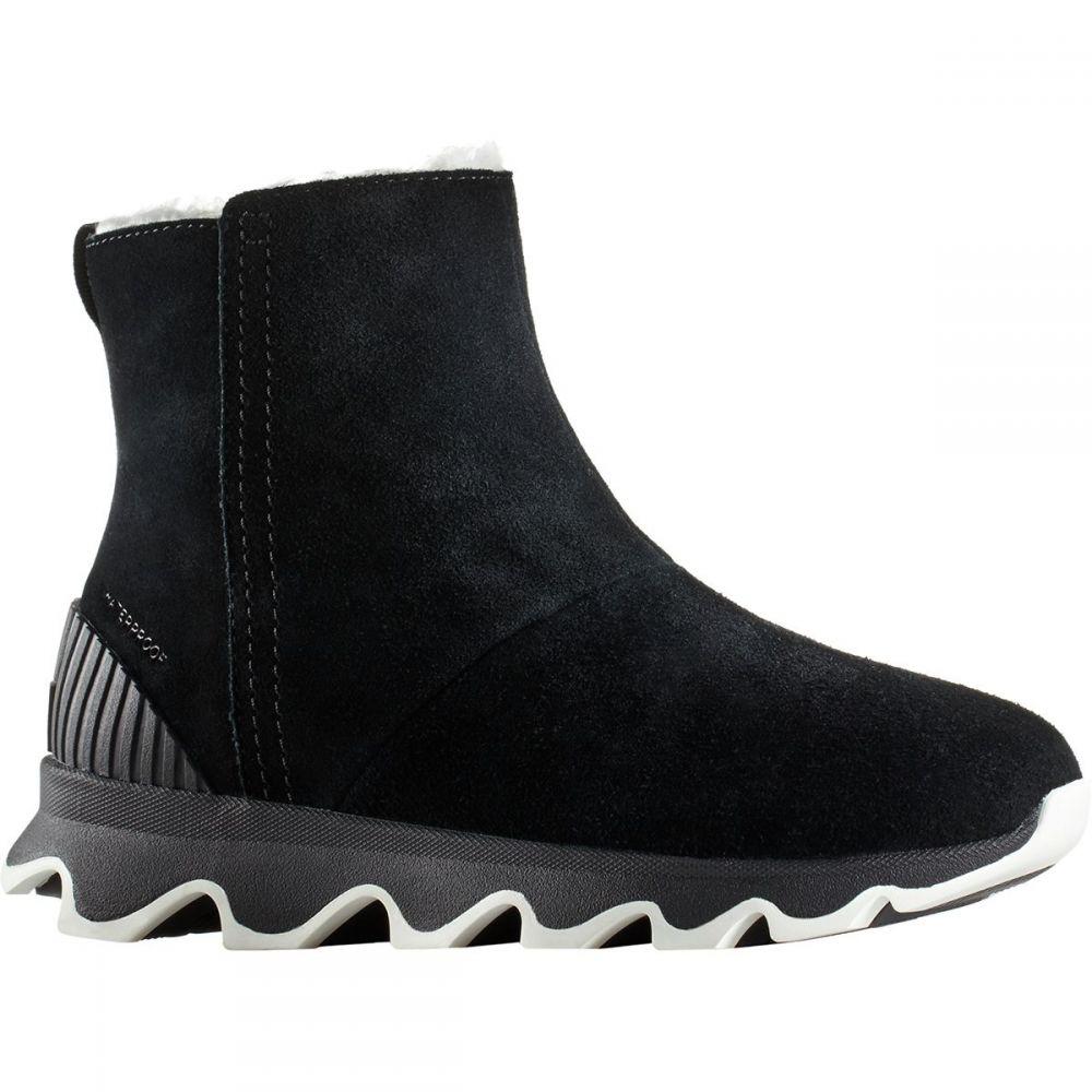 ソレル Sorel レディース ブーツ シューズ・靴【Kinetic Short Boot】Black/Sea Salt