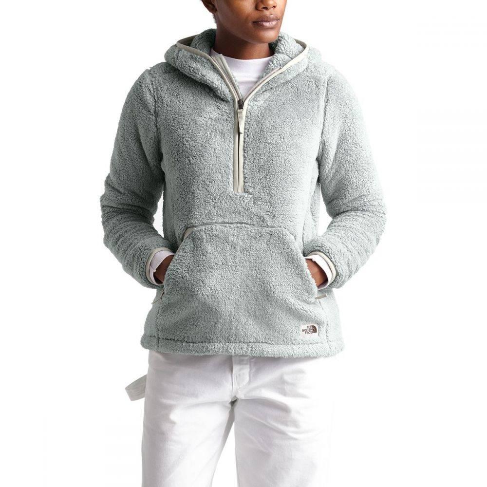 ザ ノースフェイス The North Face レディース フリース フード トップス【Campshire 2.0 Hooded Pullover Fleece Jacket】Meld Grey/Dove Grey