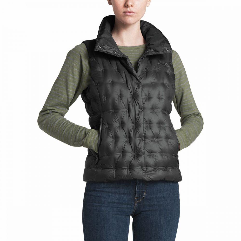 ザ ノースフェイス The North Face レディース ベスト・ジレ ダウンベスト トップス【Holladown Crop Down Vest】Asphalt Grey