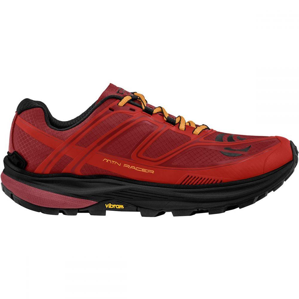 トポ アスレチック Topo Athletic メンズ ランニング・ウォーキング シューズ・靴【MTN Racer Trail Running Shoe】Red/Orange