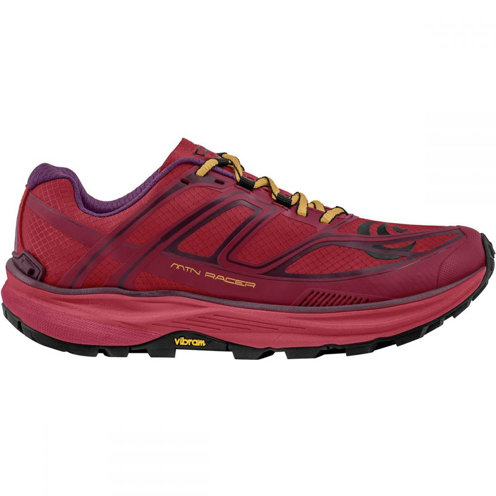 トポ アスレチック Topo Athletic レディース ランニング・ウォーキング シューズ・靴【MTN Racer Trail Running Shoe】Berry/Gold