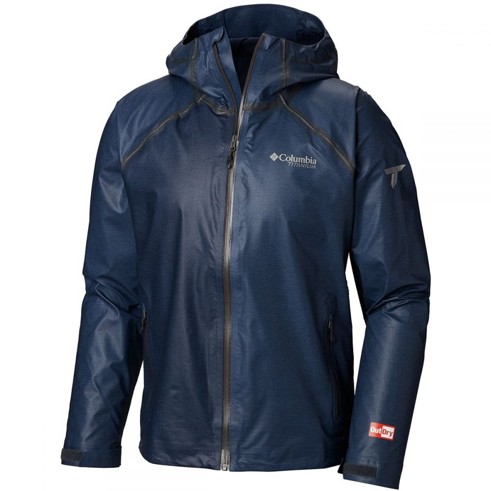 コロンビア Columbia メンズ レインコート アウター【Titanium Outdry Ex Reign Jacket】Collegiate Navy Heather