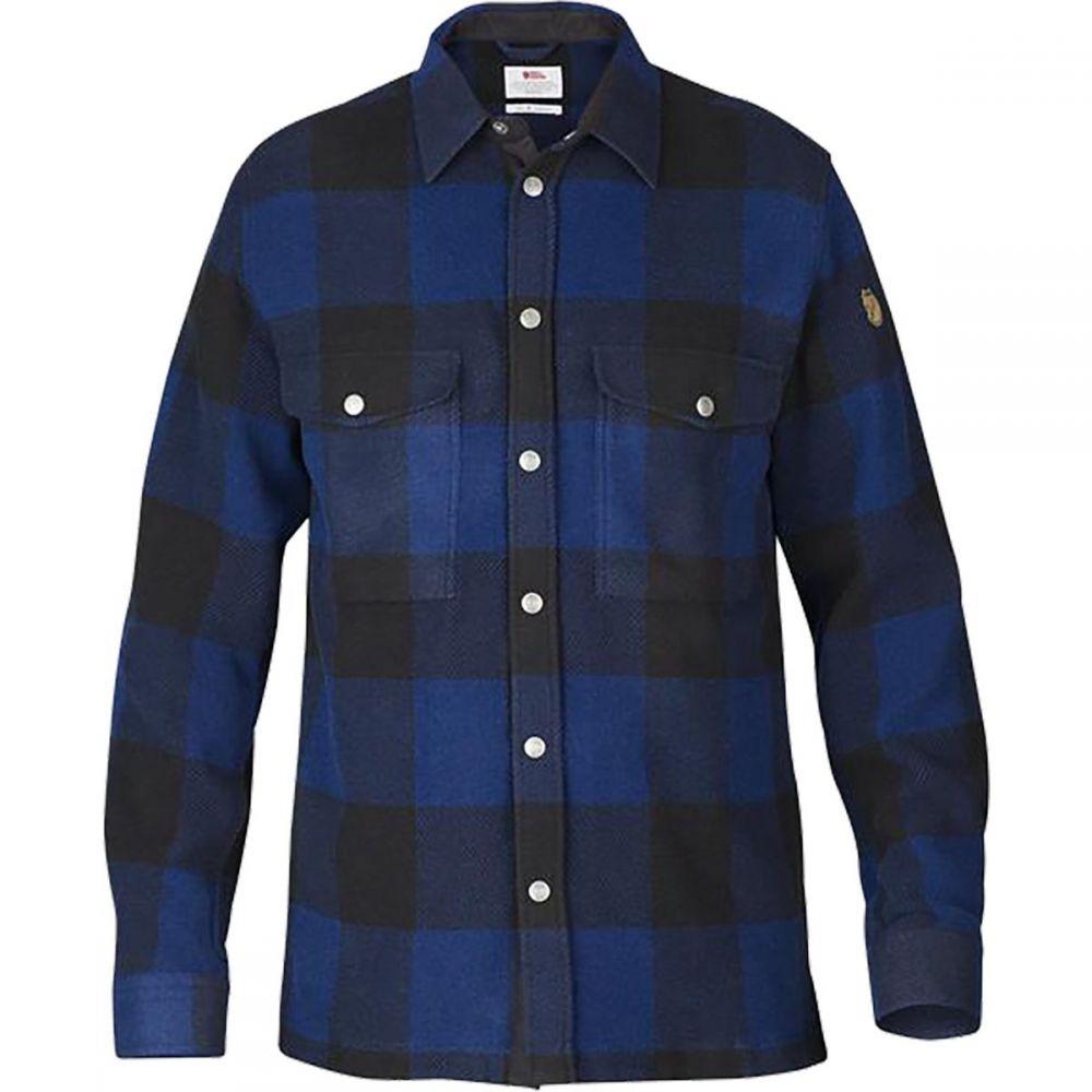 フェールラーベン Fjallraven メンズ ジャケット シャツジャケット アウター【Canada Shirt Jacket】Uncle Blue