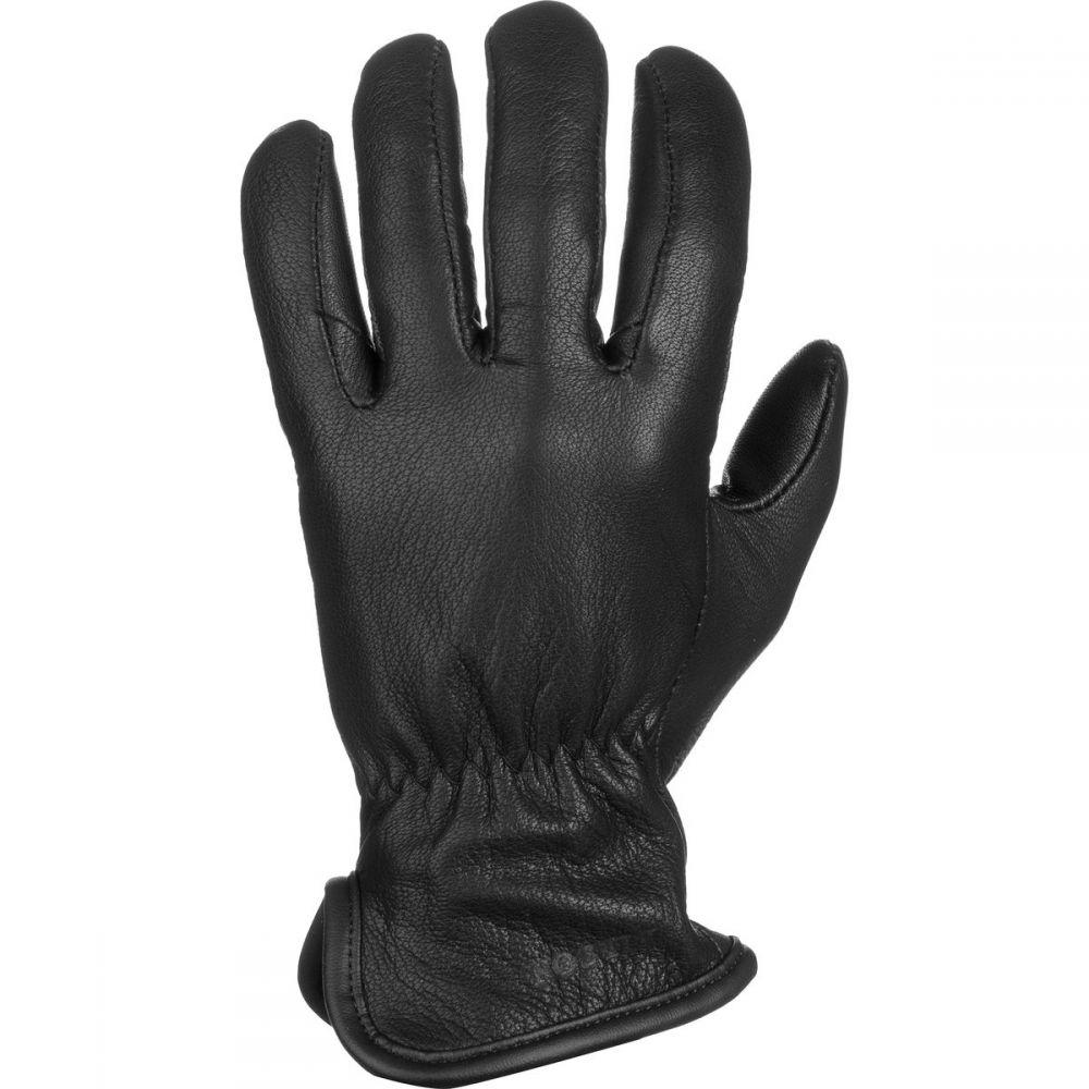 フィルソン Filson メンズ 手袋・グローブ 【Original Wool Lined Goatskin Glove】Black