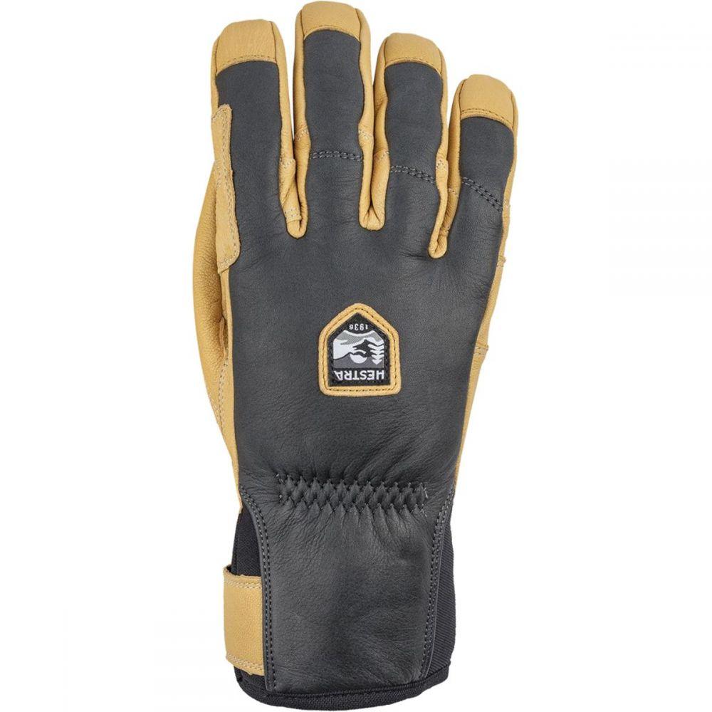 ヘスタ Hestra メンズ 手袋・グローブ 【Ergo Grip Incline Glove】Grey/Natural Brown