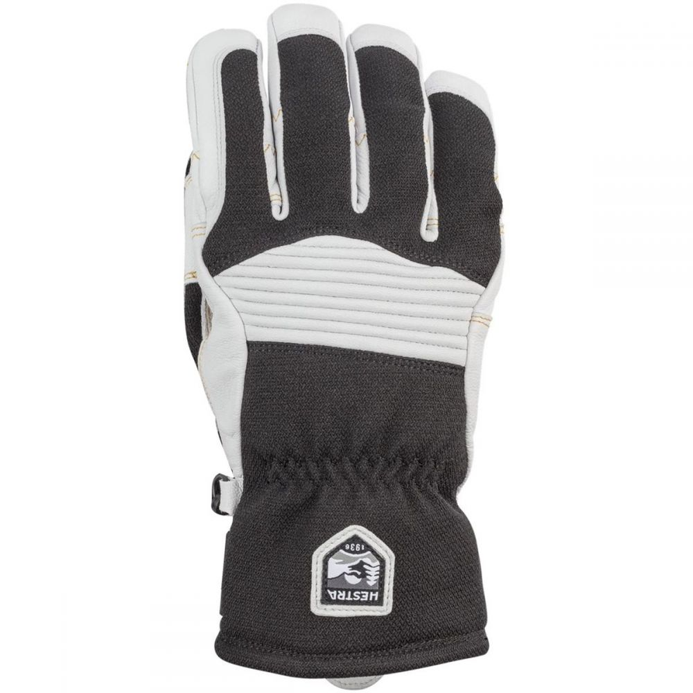 ヘスタ Hestra メンズ 手袋・グローブ 【Army Leather Couloir Glove】Black/Off White