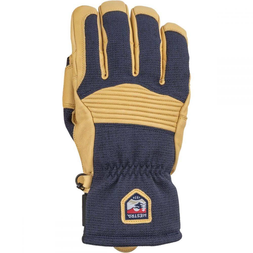 ヘスタ Hestra メンズ 手袋・グローブ 【Army Leather Couloir Glove】Navy/Tan