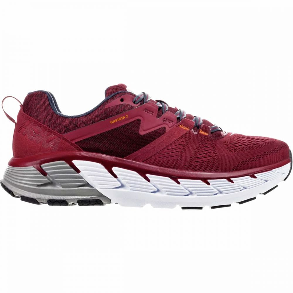 ホカ オネオネ HOKA ONE ONE メンズ ランニング・ウォーキング シューズ・靴【Gaviota 2 Running Shoe】Rio Red/Dark Slate