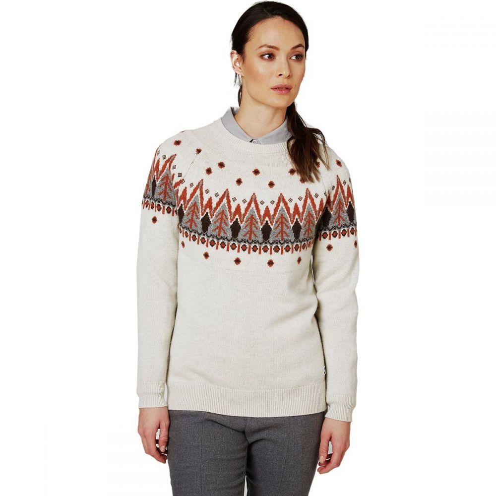 ヘリーハンセン Helly Hansen レディース ニット・セーター トップス【Wool Knit Sweater】Off White