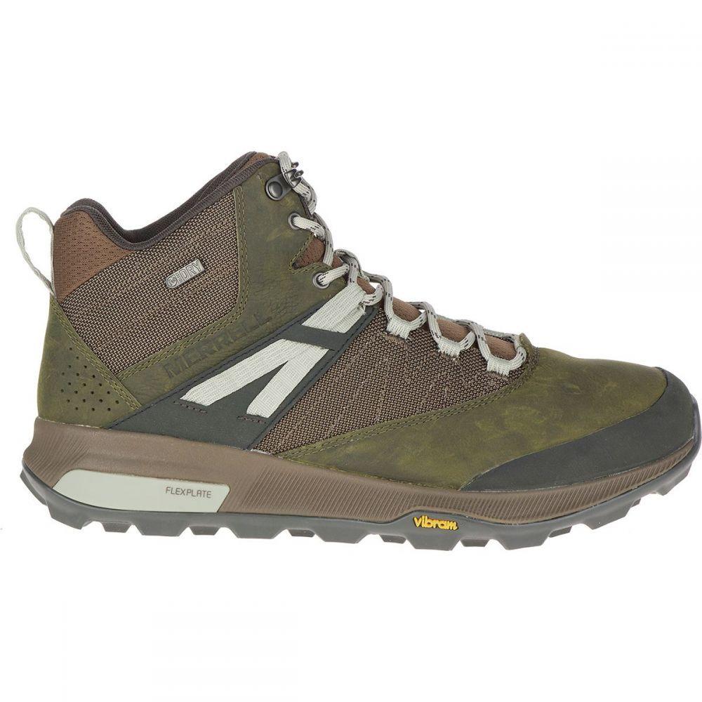 メレル Merrell メンズ ハイキング・登山 ブーツ シューズ・靴【Zion Mid WP Boot】Dark Olive