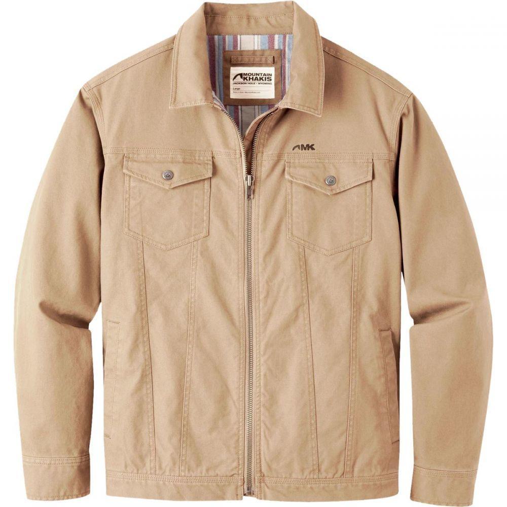マウンテンカーキス Mountain Khakis メンズ ジャケット マウンテンジャケット アウター【Mountain Trucker Jacket】Yellowstone