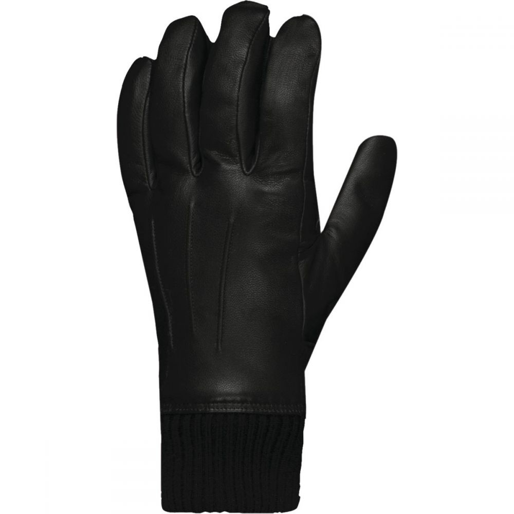 ノローナ Norrona メンズ 手袋・グローブ 【Roldal Dri Insulated Leather Gloves】Caviar