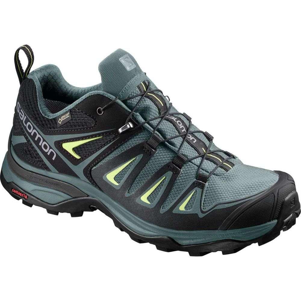 サロモン Salomon レディース ハイキング・登山 シューズ・靴【X Ultra 3 GTX Hiking Shoe】Artic/Darkest Spruce/Sunny Lime