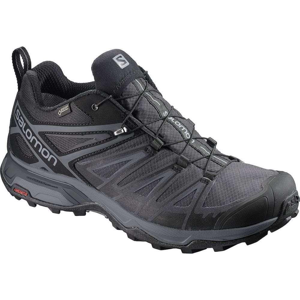 サロモン Salomon メンズ ハイキング・登山 シューズ・靴【X Ultra 3 GTX Wide Hiking Shoe】Black/Magnet/Quiet Shade