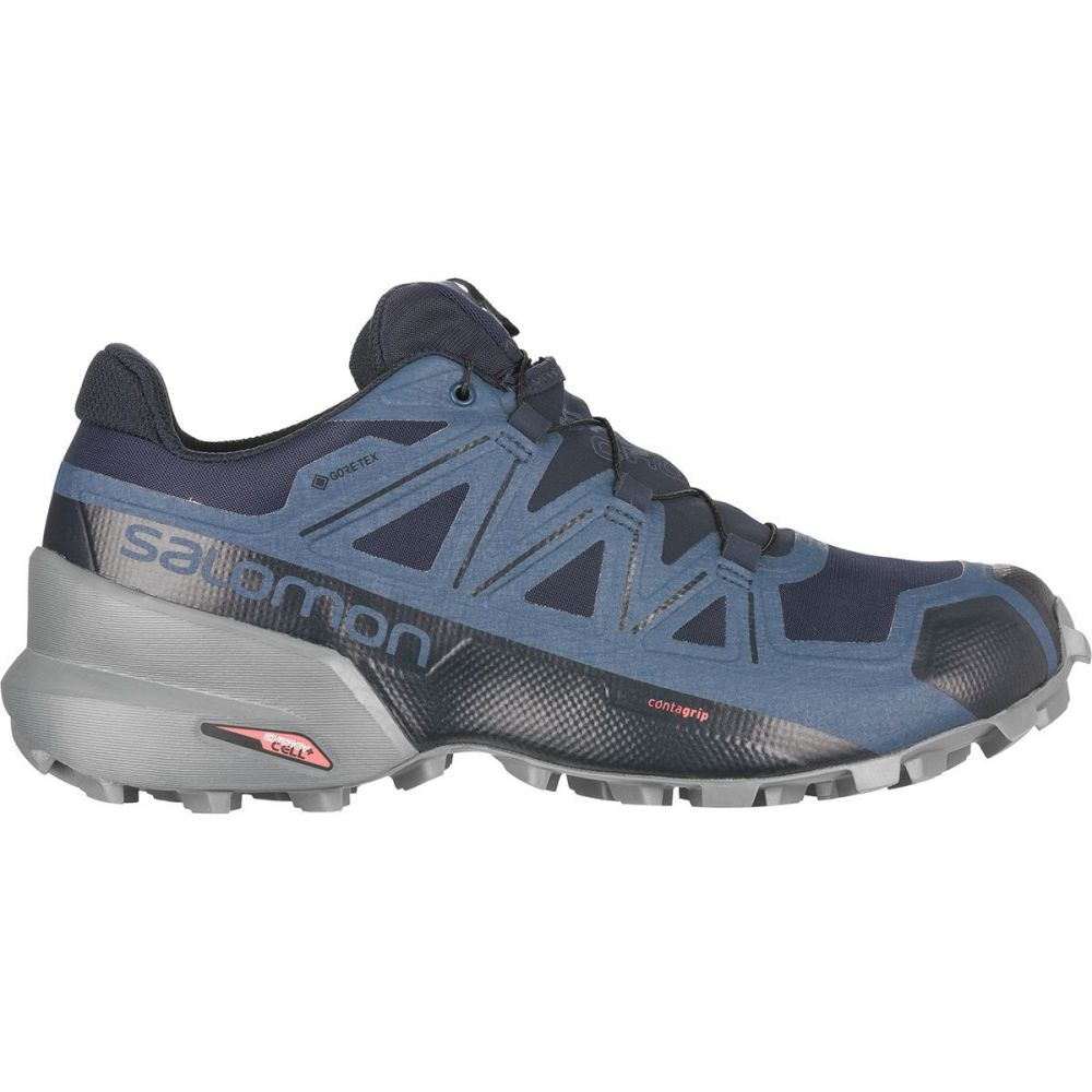 サロモン Salomon メンズ ランニング・ウォーキング シューズ・靴【Speedcross 5 GTX Trail Running Shoe】Navy Blazer/Stormy Weather/Sargasso Sea