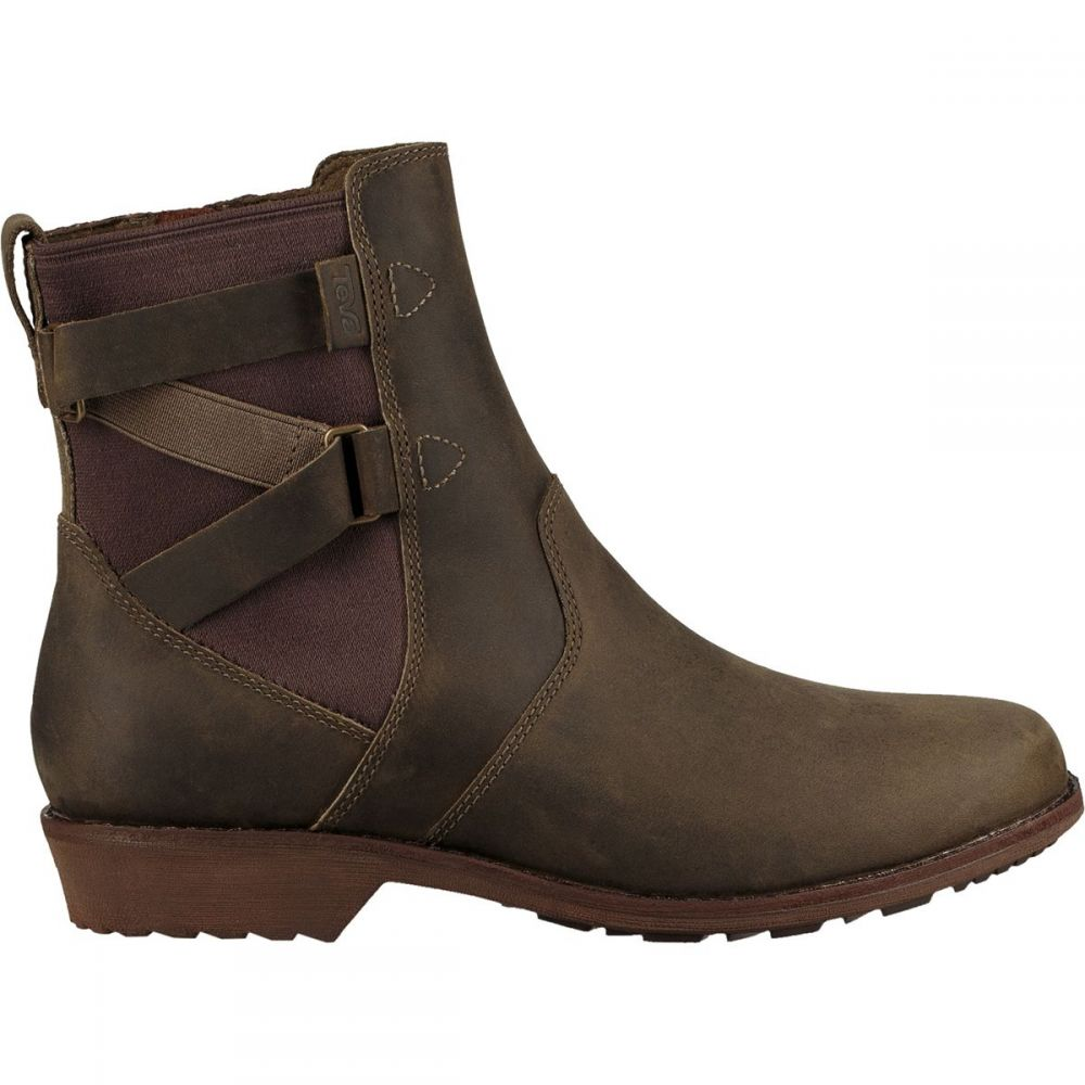 テバ Teva レディース ブーツ ショートブーツ シューズ・靴【Ellery Ankle Waterproof Boot】Dark Olive