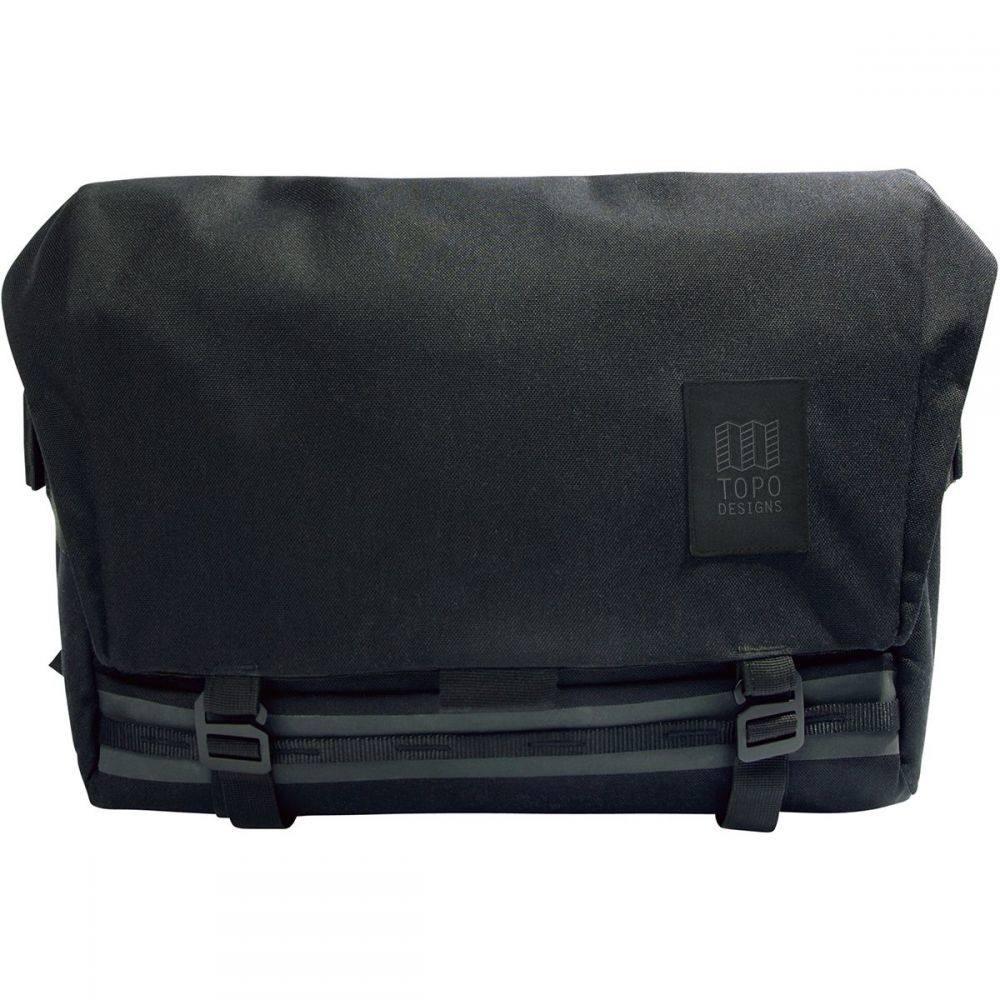 トポ デザイン Topo Designs レディース ショルダーバッグ メッセンジャーバッグ バッグ【Messenger 13L Bag】Black