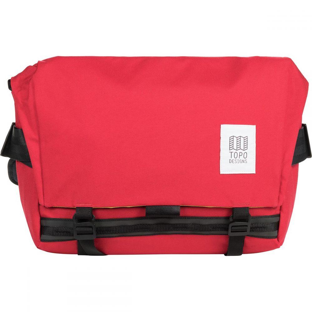 トポ デザイン Topo Designs レディース ショルダーバッグ メッセンジャーバッグ バッグ【Messenger 13L Bag】Red